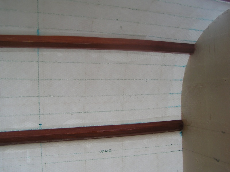 kite boat internal stringer